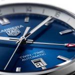 TAG Heuer Carrera Twin-Time Date WBN201A.BA0640 at Cortina Watch