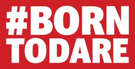 Tudor Born to Dare plaque