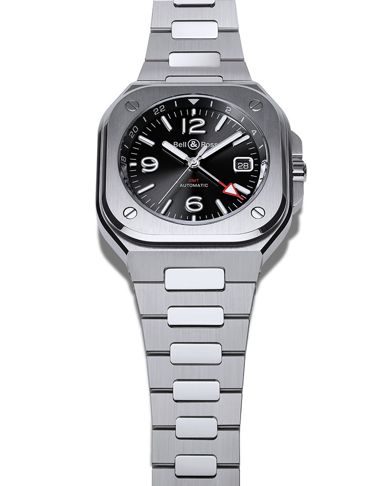 Bell & Ross BR05 GMT Steel at Cortina Watch